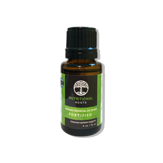 15 ML Fortified Organic Oil Blend
